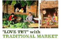 """LOVE TET"" with TRADITIONAL MARKET"