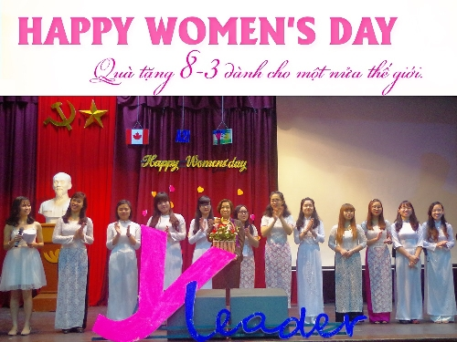 "Embassy of Canada to Vietnam and C&D Foundation honouring young female leaders at the event ""HAPPY WOMEN'S DAY"""