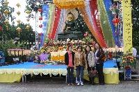 Chiêm bái tượng Phật Ngọc tại chùa Viên Giác (Hanover)