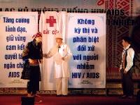 """CLB """"Nắng mới"""" thiết thực đối với bệnh nhân AIDS"""