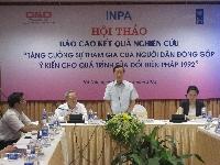 Quỹ Hợp tác Phát triển với những mốc son sự kiện năm 2012