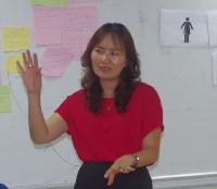 Bà Phan Thu Hiền UNFPA