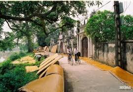Ngôi  làng mang  bản sắc quê hương và văn hóa Việt