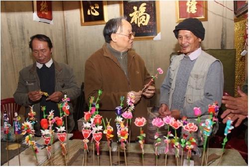 Nghệ nhân làng tò he Chu Văn Hải