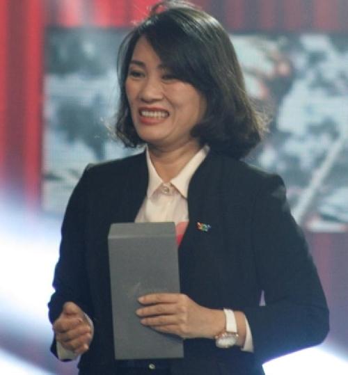 Nhà báo Tạ Bich Loan