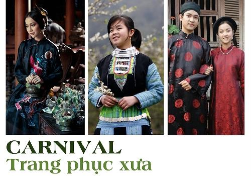 Carnival - Trang phục xưa